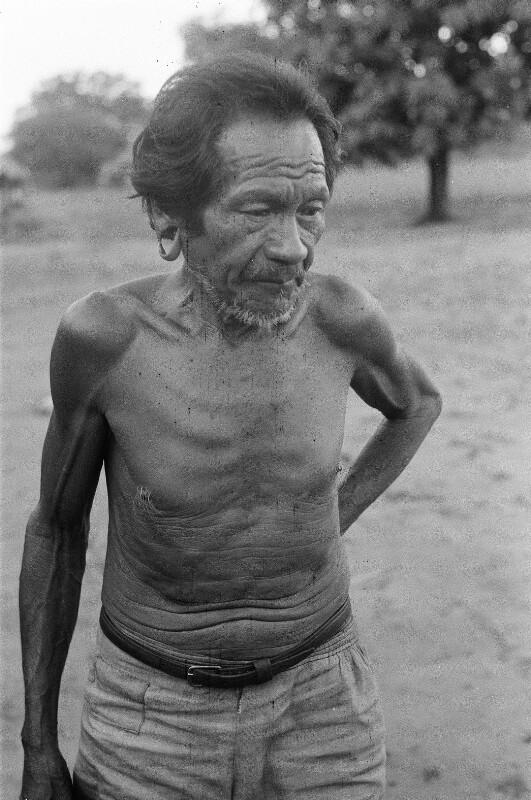 Angehöriger der indigener Bevölkerung im brasilianischen Bundesstaat Tocantins