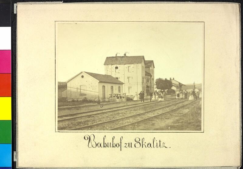 Bahnhof von Böhmisch Skalitz