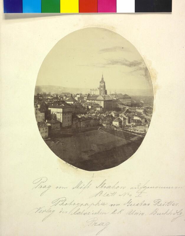 Prag vom Stift Strahow