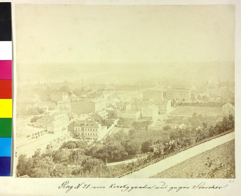 Prag vom Kinsky-Garten