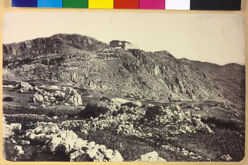 Gebäude an der dalmatinischen Küste