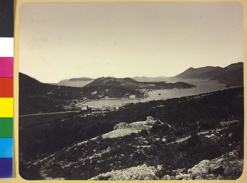 Halbinsel Lapad neben dem Hafenbecken von Gruz