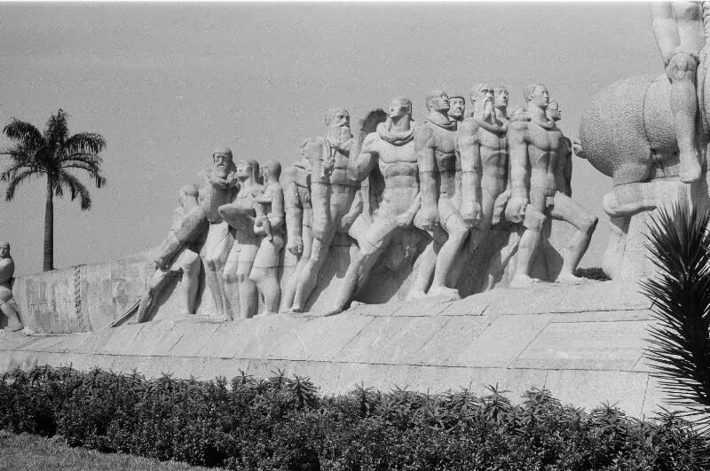 Das Denkmal der Bandeirantes