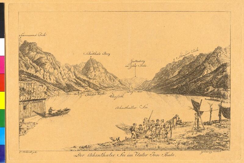 Achensee im Unterinntal in Tirol