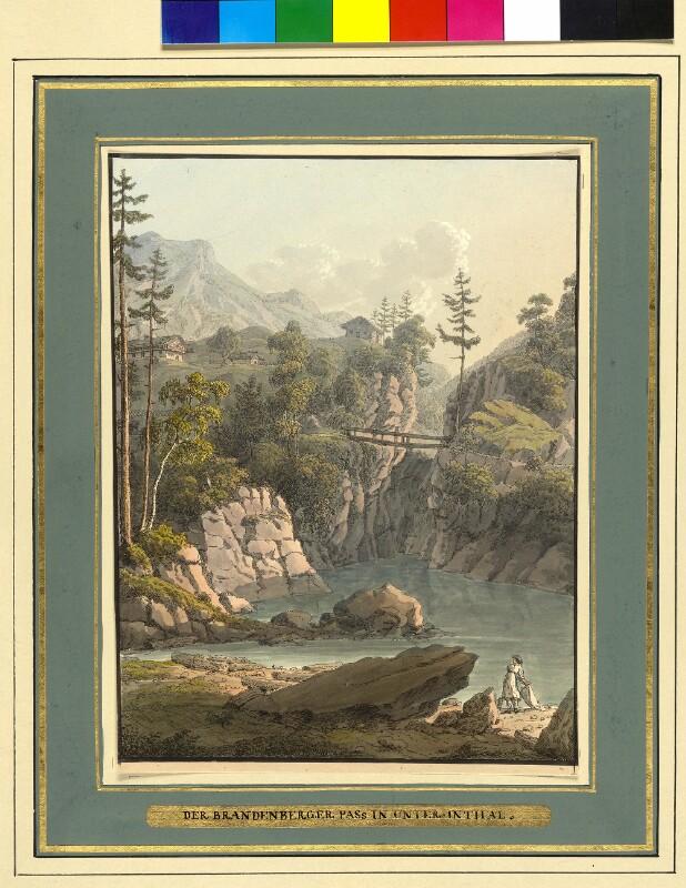 Brandenberger Pass im Unterinntal