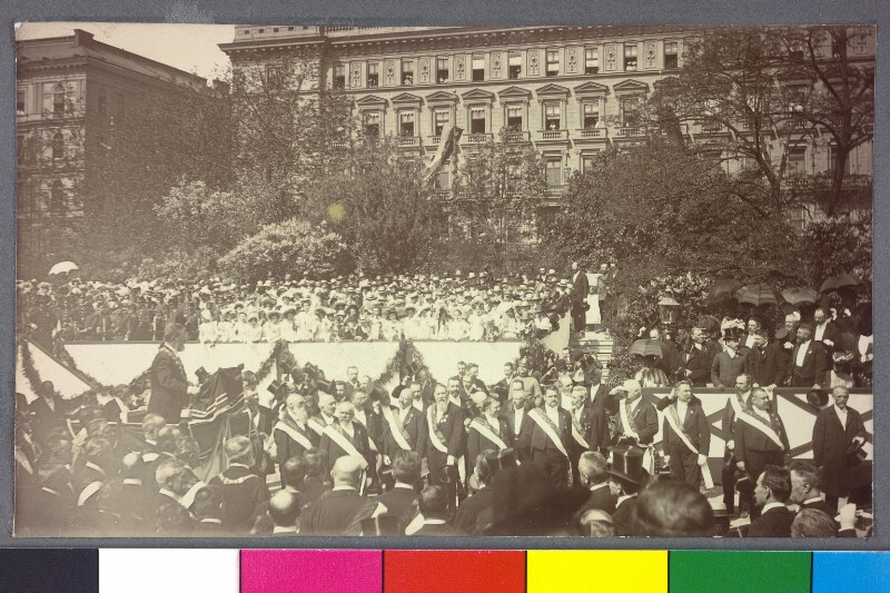 Schillerfeier in Wien