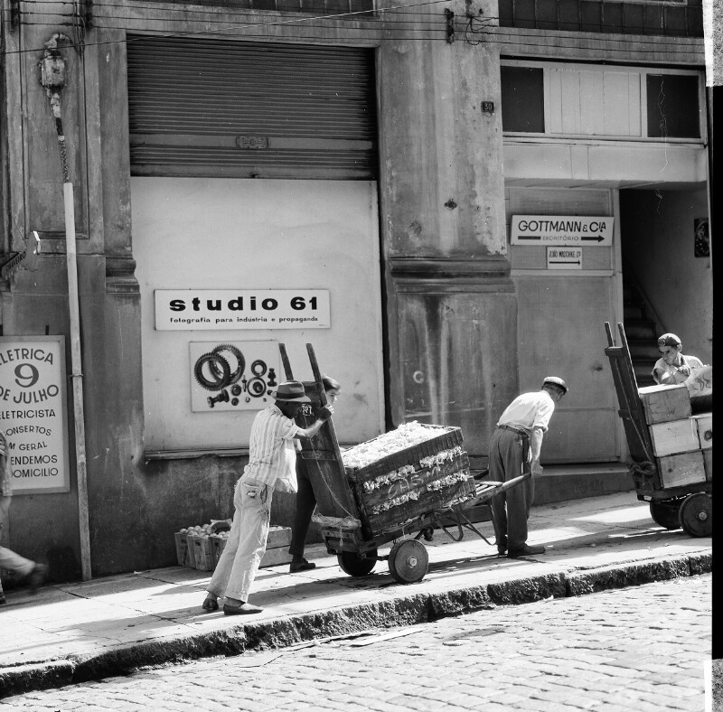 "Heydeckers Fotoladengeschäft ""Studio 61"" in São Paulo"
