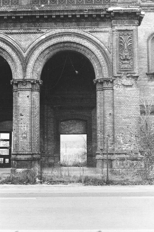 Anhalter Bahnhof in Berlin