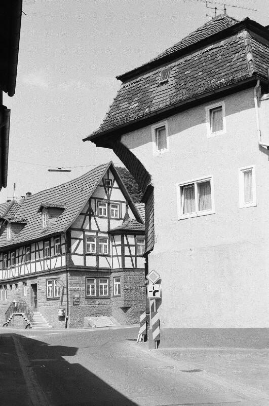 Alte Häuser in Rieneck