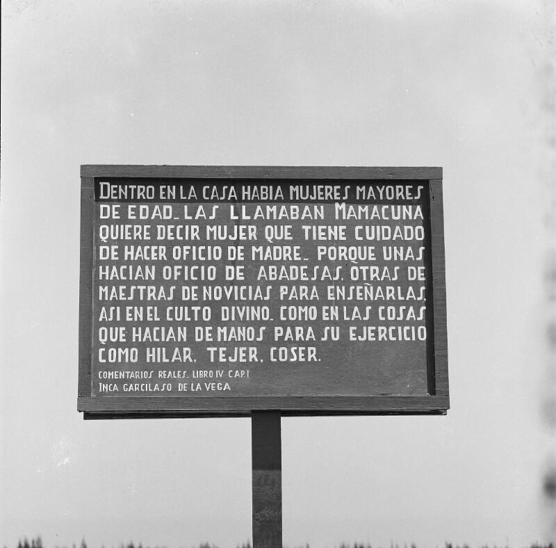 Altertümer in Pachacámac