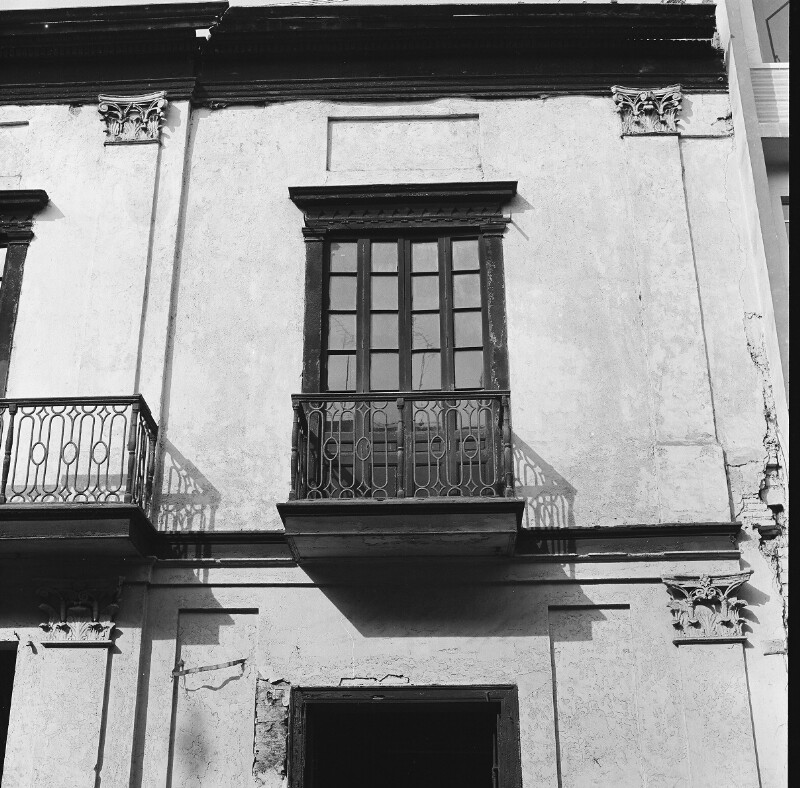 Altes Wohnhaus in Lima
