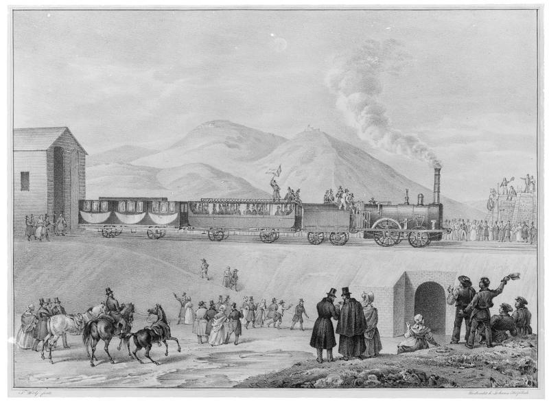Erste Probefahrt mit Dampfwagen in Österreich