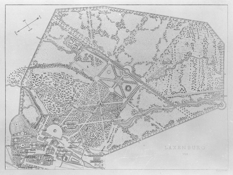 Plan von Laxenburg