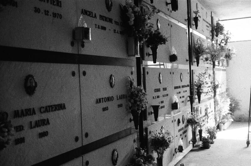 Am Friedhof Staglieno