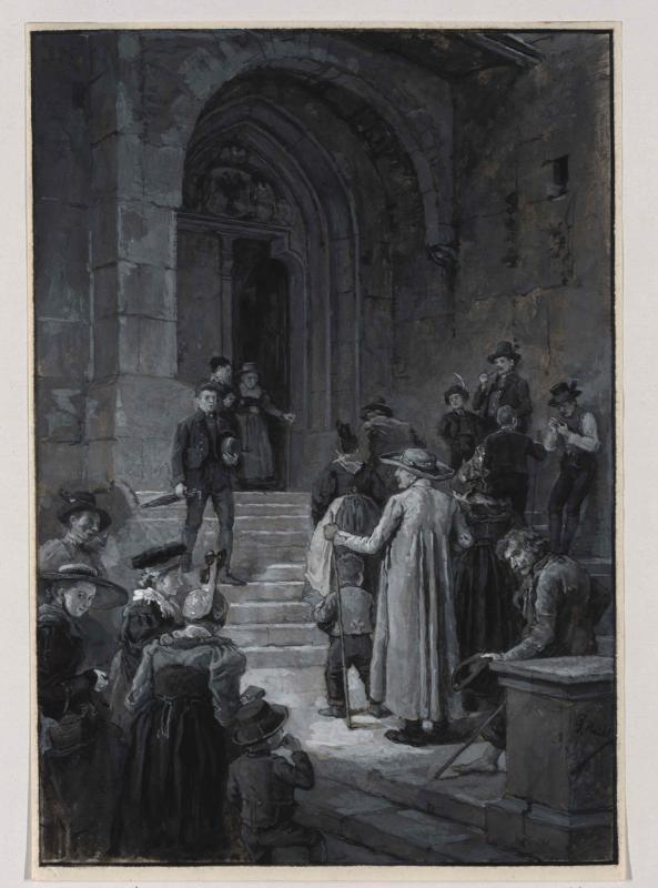Kirchgang in der Obersteiermark