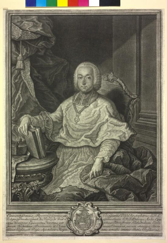 Migazzi von Wall und Sonnenthurm, Christoph Anton Graf