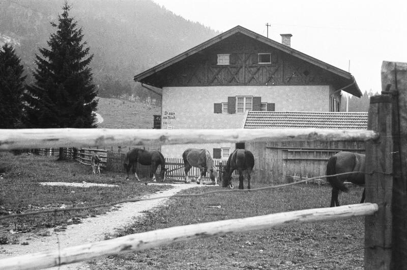 Berglandschaft bei Garmisch
