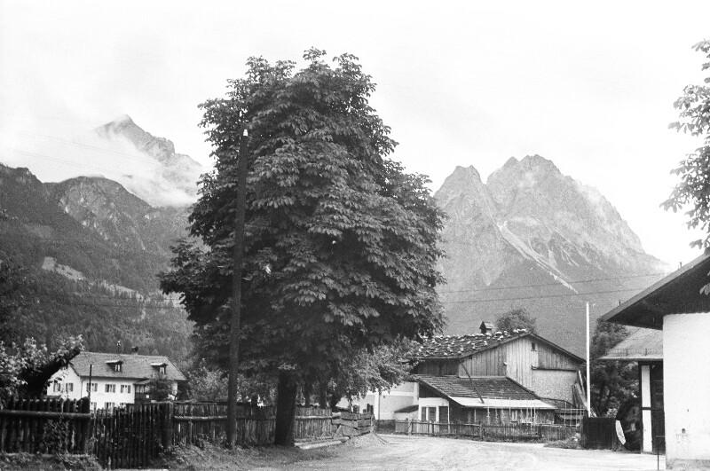 Dorf bei Garmisch
