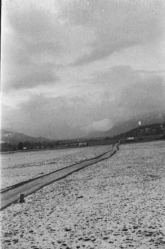 Winterlandschaft bei Garmisch