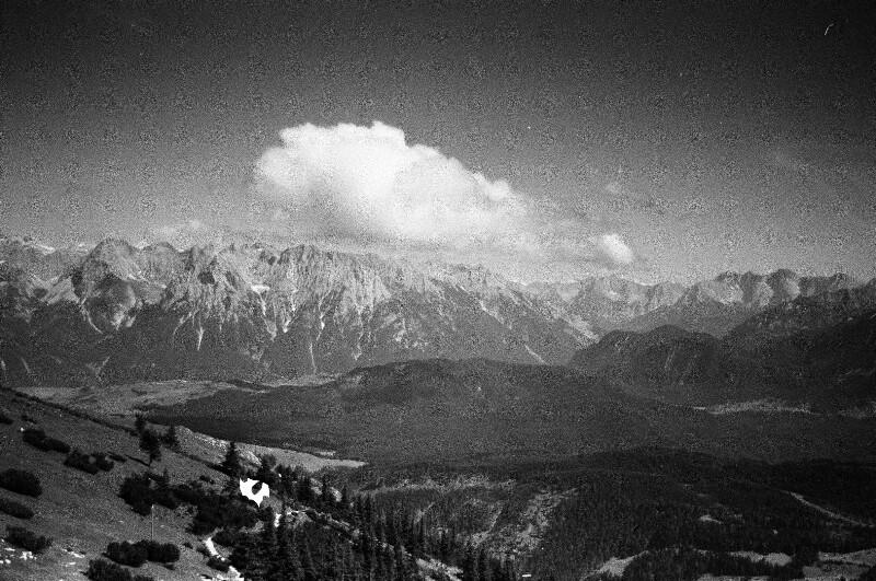 Auf dem Wank bei Garmisch