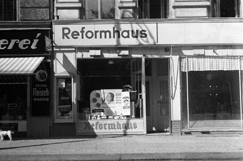 Ladengeschäft in der Maassenstraße