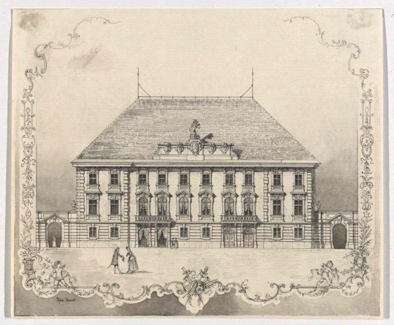 Graz - das landständische Schauspielhaus im Jahr 1776