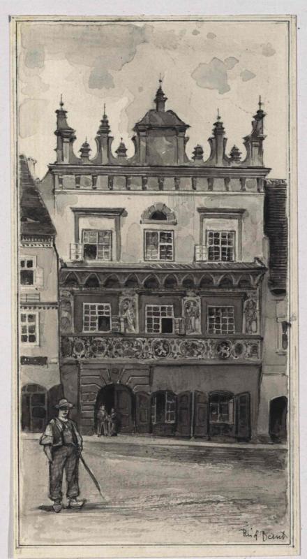 Das Zdiarsky-Haus in Prachatitz (Prachatice)