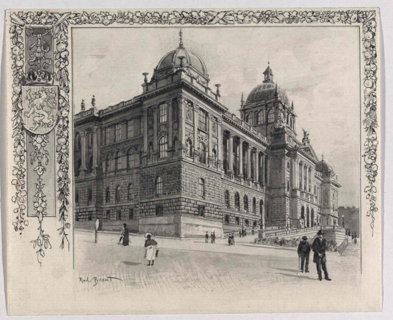 Das Nationalmuseum in Prag