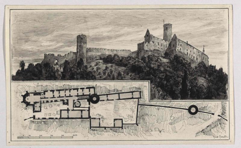 Burg Bösig (Bezděz)