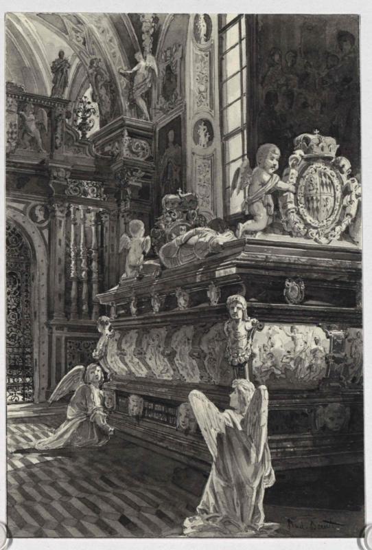 Das Mausoleum in Seckau