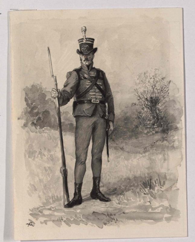 Soldat der Legion des Erzherzogs Karl von 1800