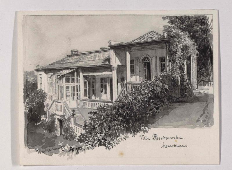 Villa Bertramka in Prag