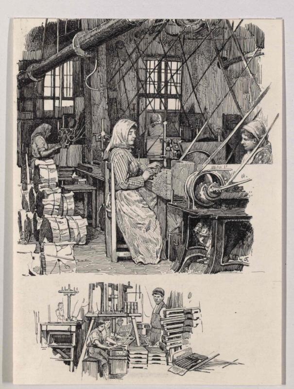 Die Bleistiftfabrik L. & C. Hardtmuth in Budweis