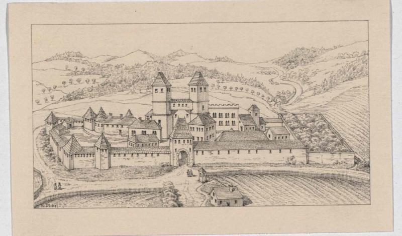 Kloster Vorau im Jahr 1452