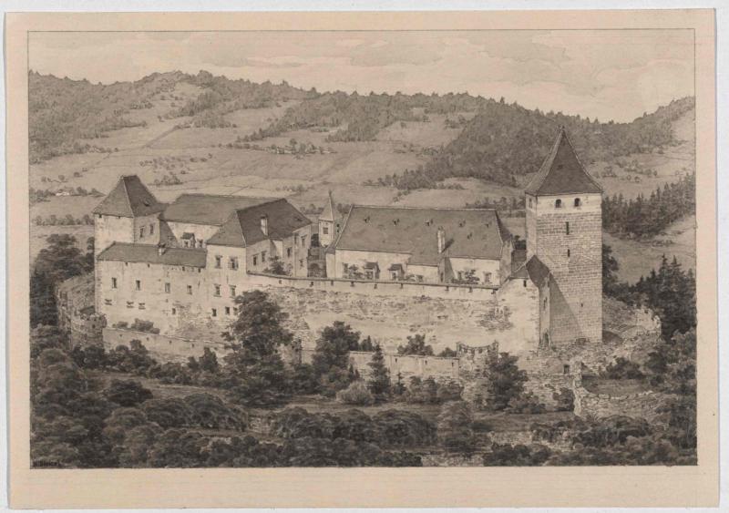 Burg Thalberg bei Hartberg