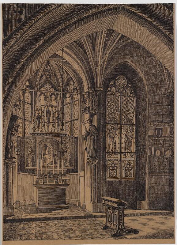Die Erkerkapelle des Altstädter Rathauses in Prag