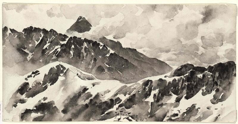 Die Krywan-Kette (Kriváň-Kette) in der Hohen Tatra