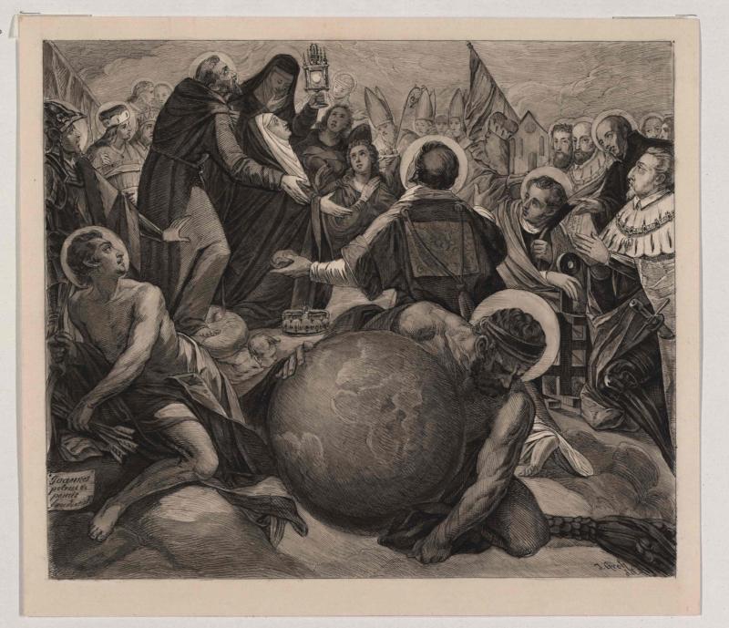 Pietro de Pomis: Aufnahme der Erzherzogin Maria in den Himmel