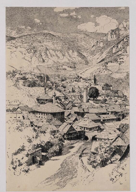 Ansicht von Travnik