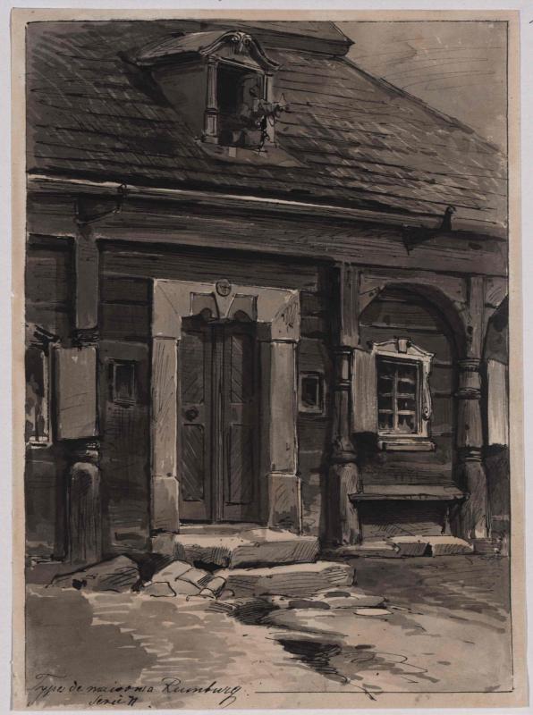 Typus eines Hauseinganges in Rumburg