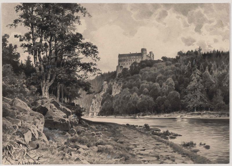 Schloss Worlik (Orlík nad Vltavou)