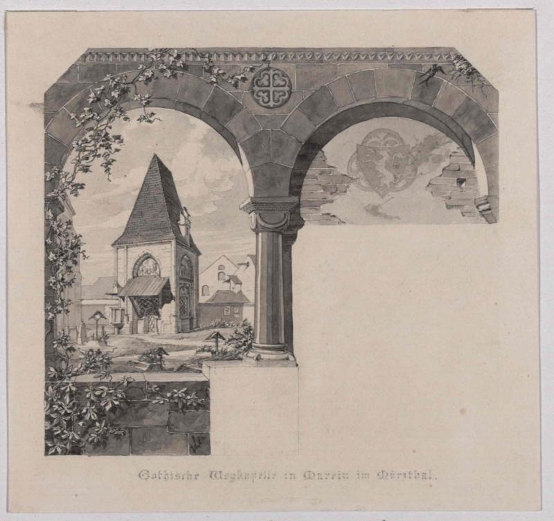 Gotische Wegkapelle in St. Marein im Mürztal (St. Sebastiankapelle)