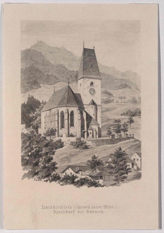 Pfarrkirche St. Maximilian in Kirchdorf (Gemeinde Pernegg)