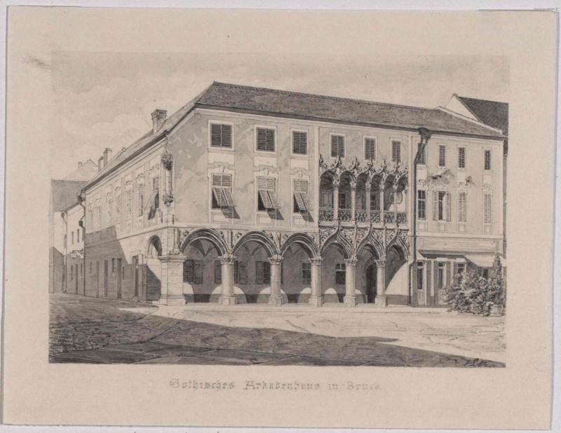 Das Kornmesserhaus in Bruck an der Mur