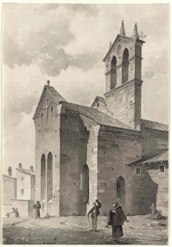 Kirche San Francesco in Pula - Choransicht