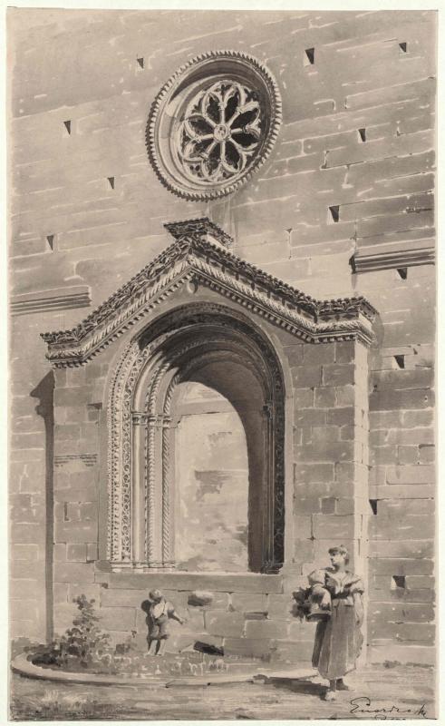Portal der Kirche San Francesco in Pola