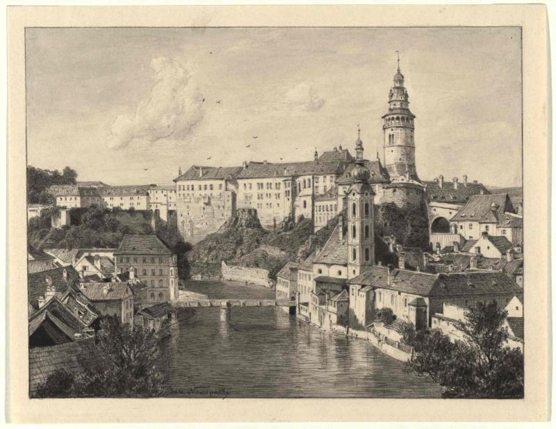 Stadt und Schloss Krumau