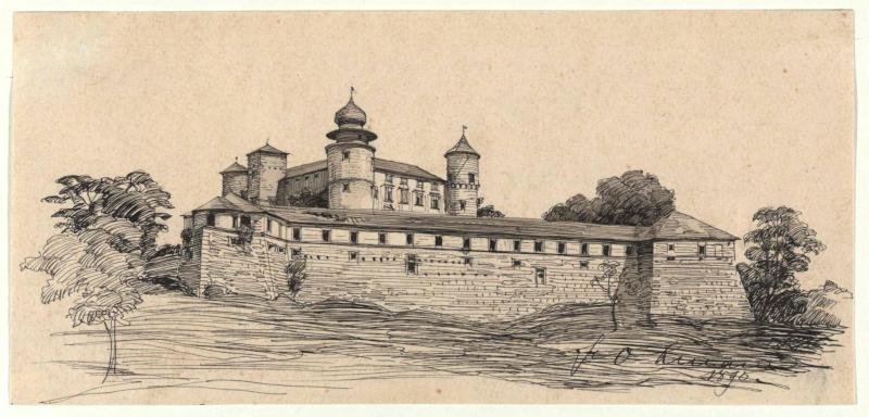 Burg Novy Wisnicz bei Bochnia