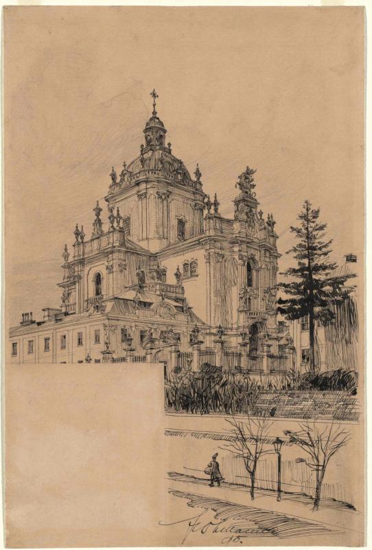 Die Georgskirche in Lemberg