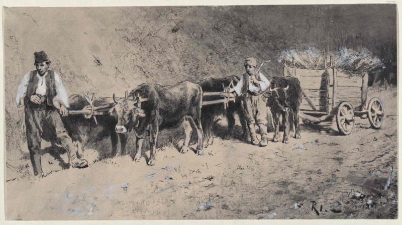 Altbosnischer Erntewagen